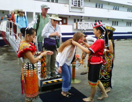 MV Orion II Brings In Tourist To Sarawak