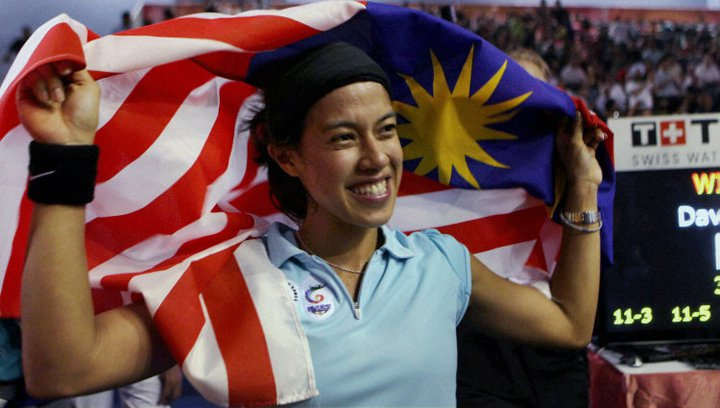 nicol david Nicol david, the most dominant squash star in the past decade, crashed out of  the world championship in malaysia on thursday, ending her.