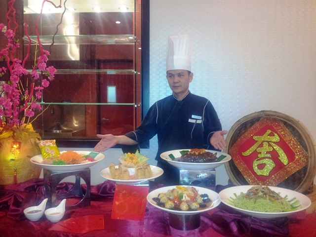 Special Chinese Set Menus at Pullman's Nu Er Hong