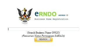 Business Name Search Online Available For Sarawak