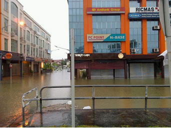 flood kuching