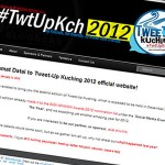 #TwtUpKch 2012 website updated, event planning begins