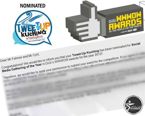 #TwtUpKch Nominated For Social Media Gathering of the Year