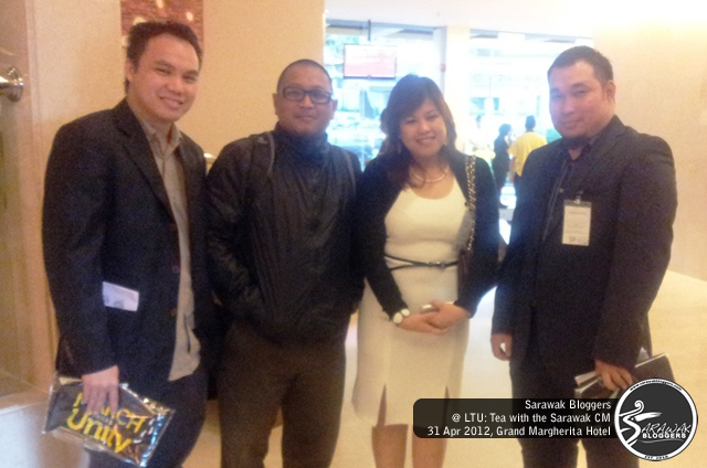 Bloggers attend LTU: Tea with Sarawak CM