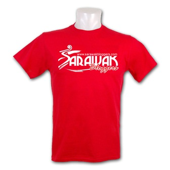 Official Sarawak Bloggers t-shirt for purchase