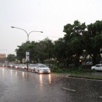 Storm in Kuching City causes havoc