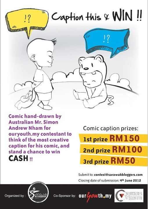 Caption this, and win RM150!