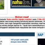 Harian Metro apologizes over Penan article