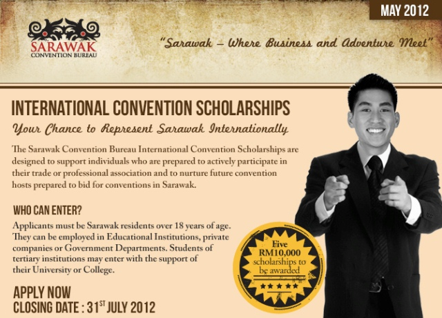 SCB offers International Convention Scholarships