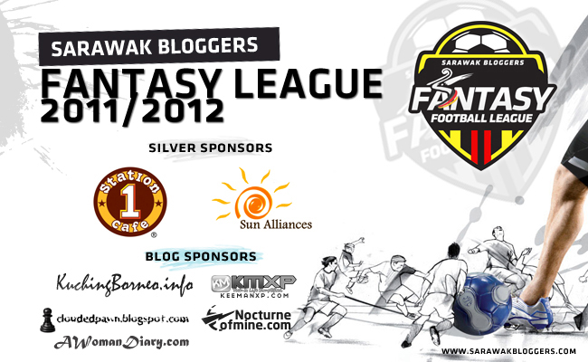 Sarawak Bloggers Fantasy League results: Clouded Pawn FC sweeps it all!