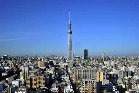 Japan now has the world's tallest tower