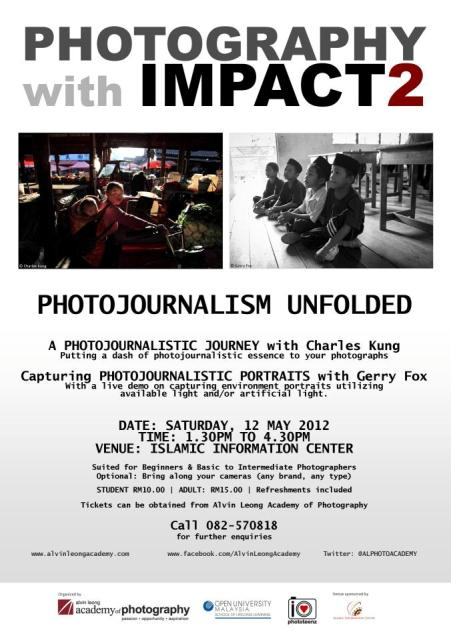 "VIP Passes to ""Photography with Impact 2″"
