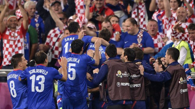 EURO 2012: Spain and Italy share spoils as Croatia win
