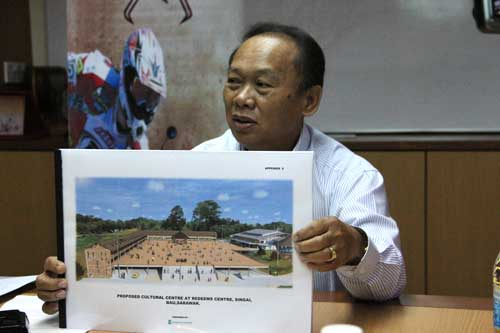 Cultural centre at Jalan Apar-Segong - Photo by Borneo Post