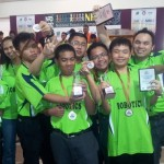 Results for Sarawak National Robotics Competition 2012