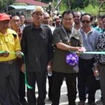 Concrete road at Taman Temedak opened