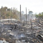 Rh Suhan, Sibu burned to the ground