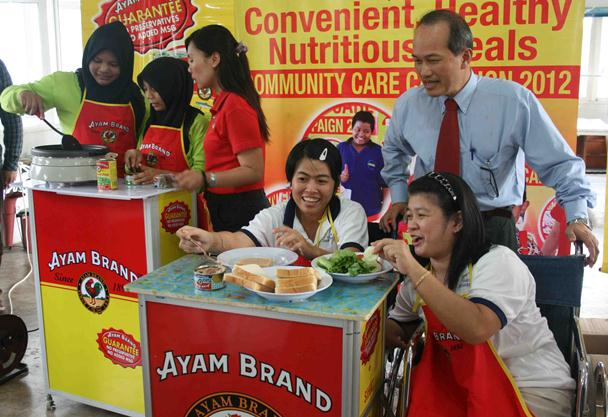 Charity homes in Sarawak benefit from two months supply of Ayam Brand products