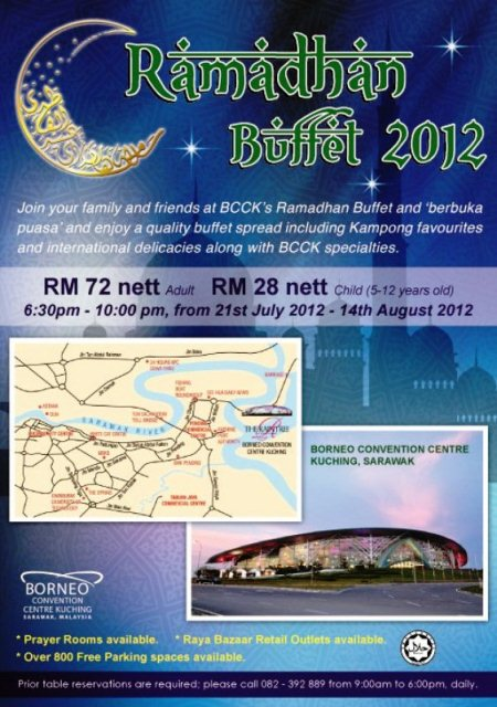 BCCK to host selected bloggers for their Ramadan buffet