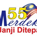 Netizens question 55th Merdeka logo design