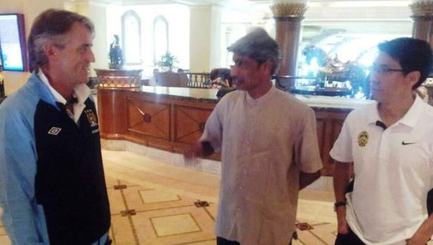 Roberto Mancini now in Malaysia for Man City friendly