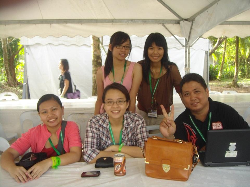 Sarawak Bloggers at the RWMF 2012 12-14 July 2012