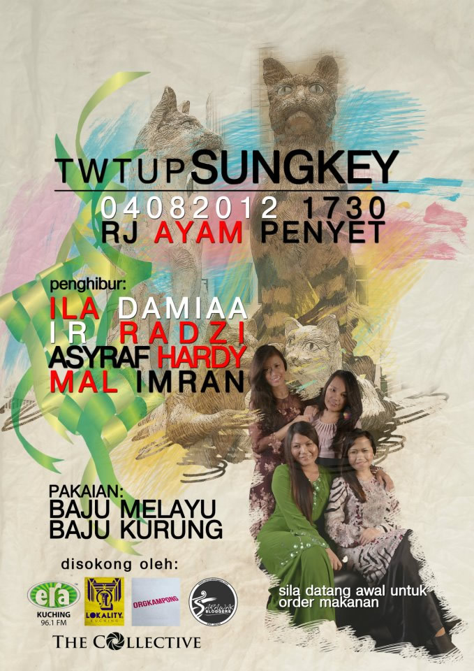 This evenings #TwtUpSUNGKEY the first in Sarawak!
