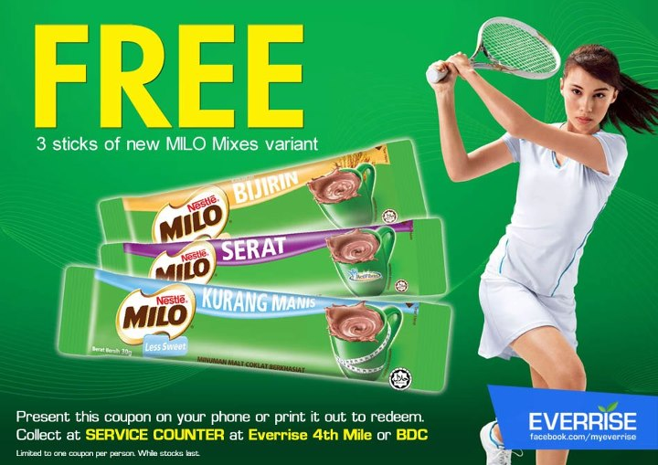 Everise gives out free MILO to celebrate Pandelela's success