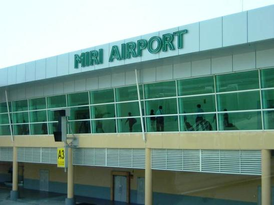 Miri Airport. Photo by ajikecik.blogspot.com