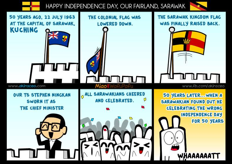 A comic strip which reveals the sad truth by Jian Goh.