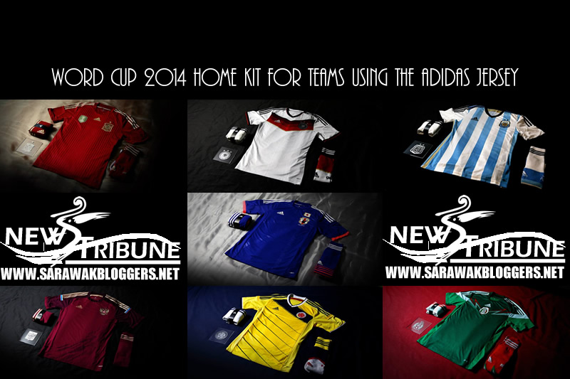 World Cup 2014 jersey