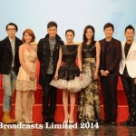 Various artistes promoted the brand new music movies, TVB