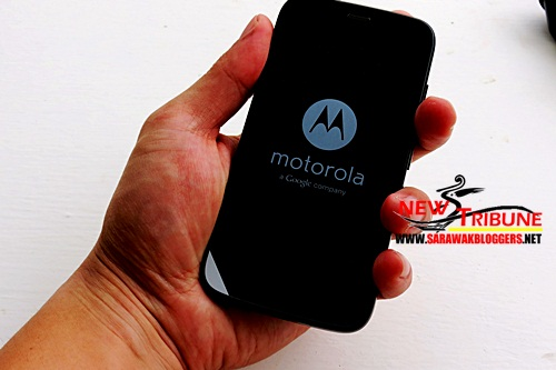 Motorola G feels great in the palm