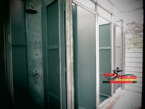 Military looking bathrooms/enclosures