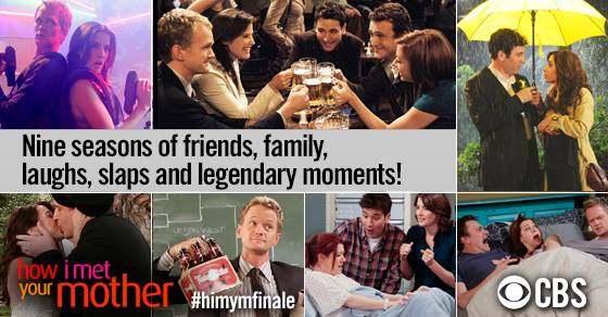 After nine seasons, legendary HIMYM ends