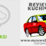 Booking a taxi in Kuching City using MyTeksi App