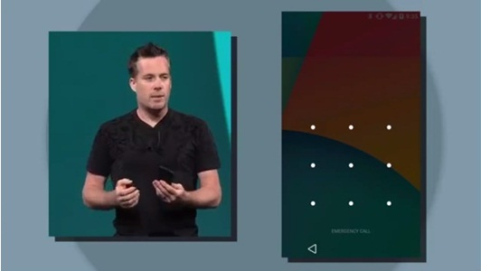 Simpler unlocking with Android L