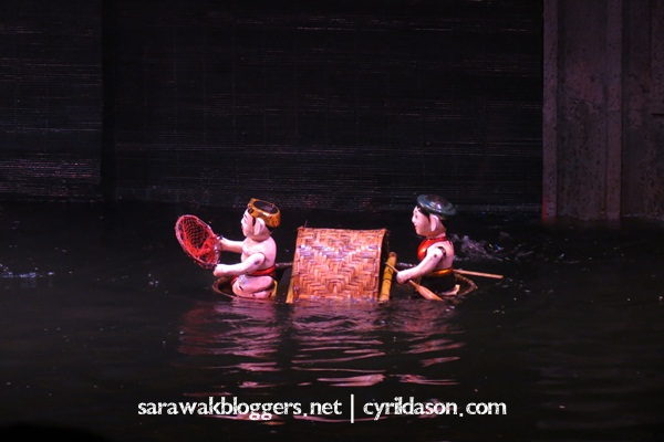 An interesting water puppet show in Hanoi. Worth every penny.
