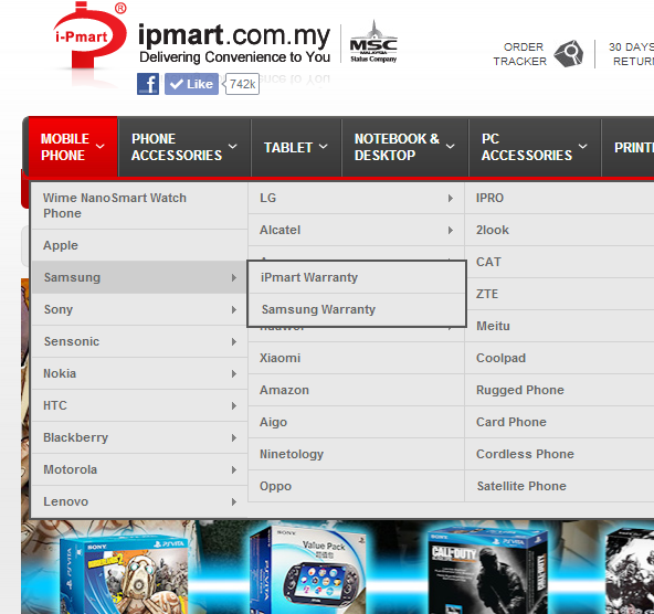 Two types of warranty provided by iPmart.