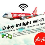Free WiFi on board AirAsia flights