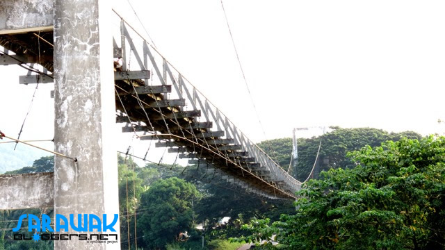 The famed Tamparuli Suspension Bridge