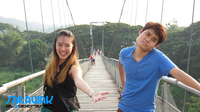 Models of the Tamparuli Suspension Bridge =P