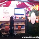 Best event company in Sarawak excites bloggers with booth at SHEDA