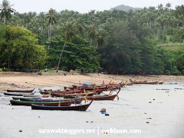 Another view which is hidden from those not using motorcycles. This was quite something at Rawai beach.