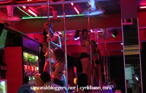 Nightlife in Phuket's Patong Street seems to be a lot tamer now.