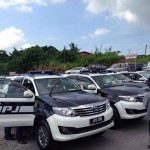 JPJ patrol vehicle in Sarawak spots new colour and plate number