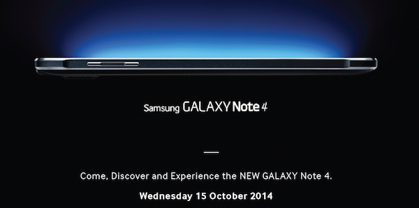 Samsung Galaxy Note 4 coming to Malaysia this 15 October