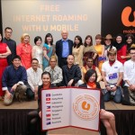 U Mobile first to allow prepaid users to use internet for free overseas