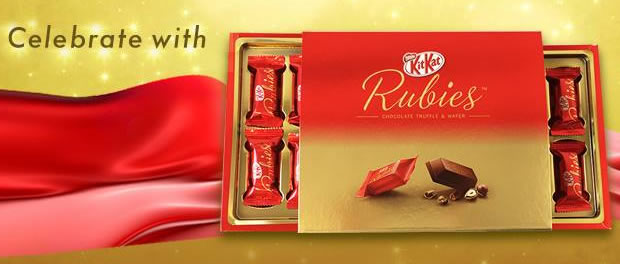 SPONSORED POST: Celebrate the best break of life this Valentine with Kit Kat Rubies