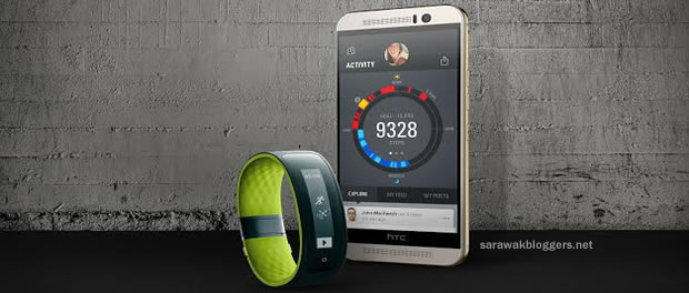 HTC launches GPS-enabled smart fitness tracker designed for UA Record